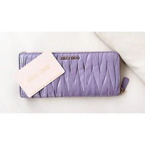Miu Miu Matalasse Wallet